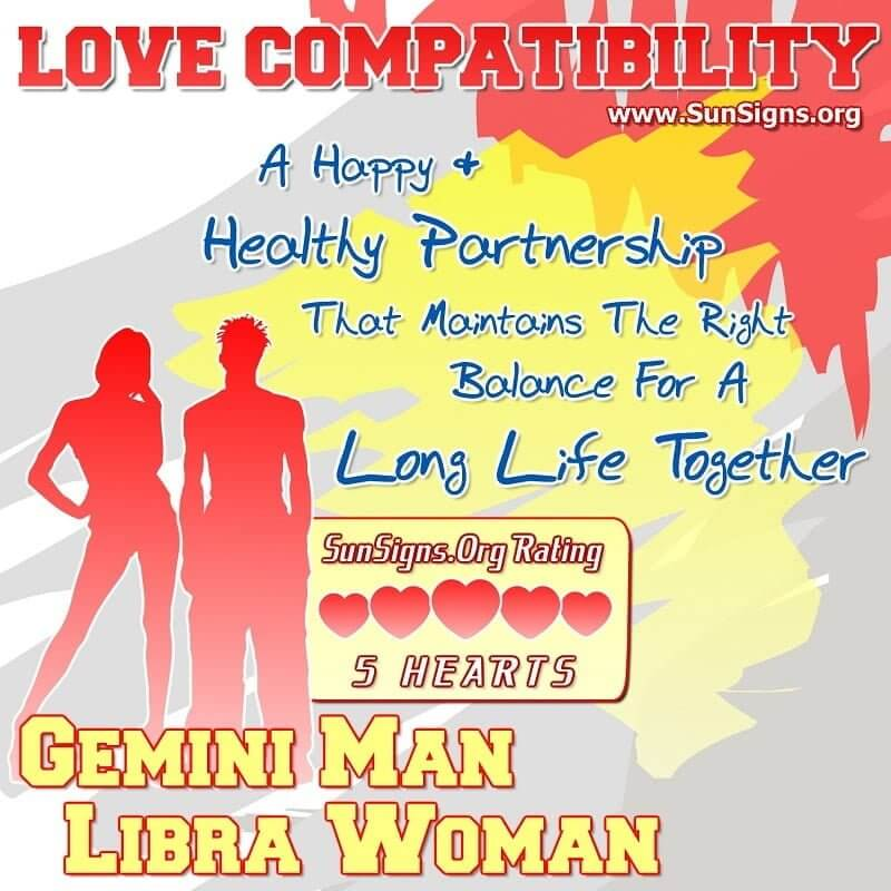 Libra woman gemini man in bed