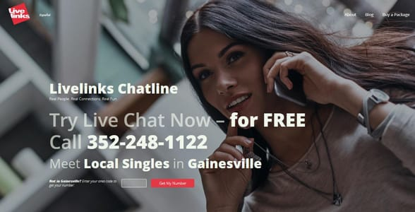Live links free chat line number