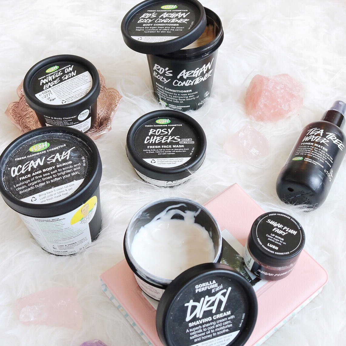 Lush products for sensitive skin