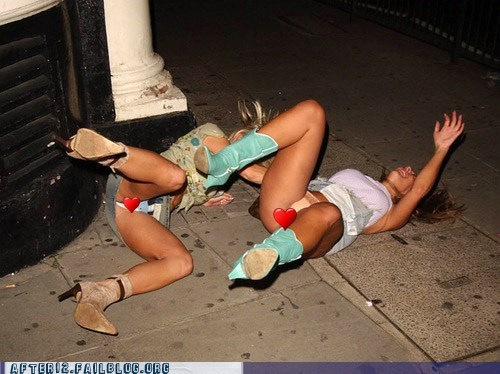Passed out girls com