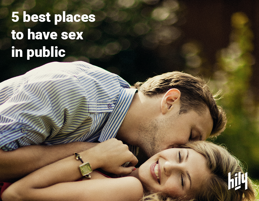 Places you can have sex at