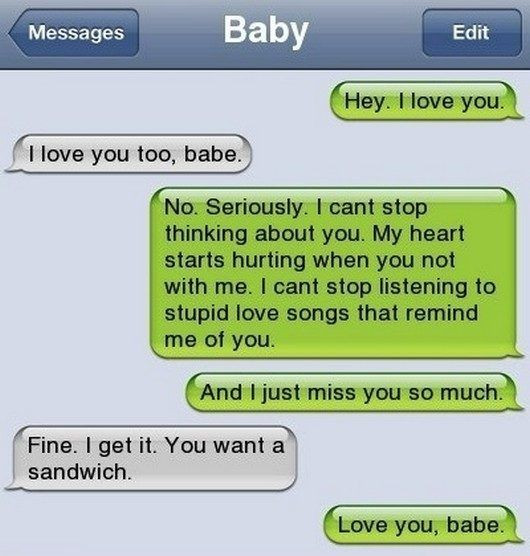 Sexy things to text