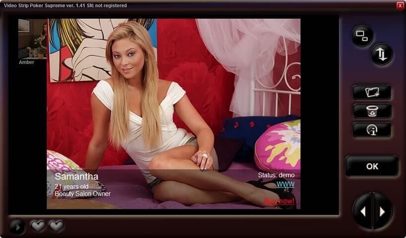 Strip poker video game online free