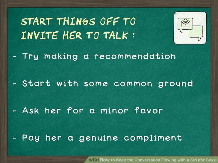 Topics to talk about with a girl online