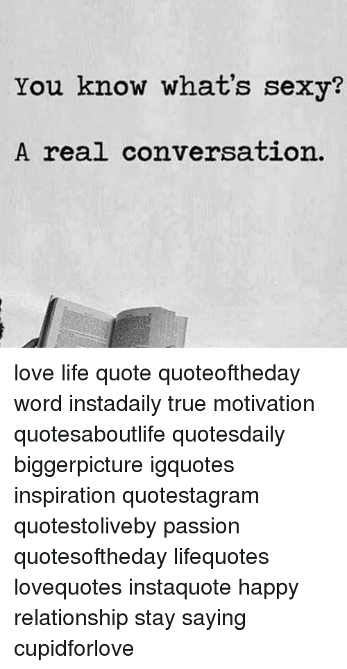 What is sexy quotes