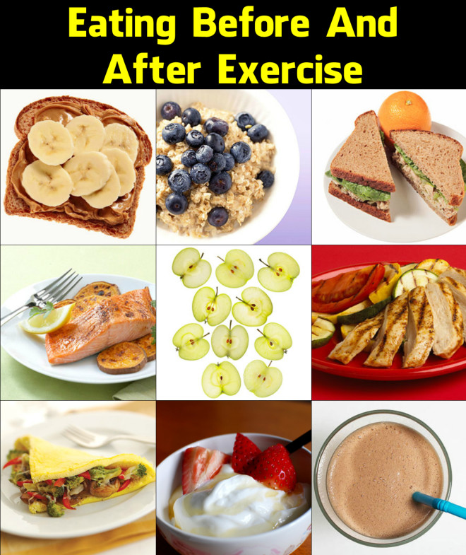 What should you eat before exercise