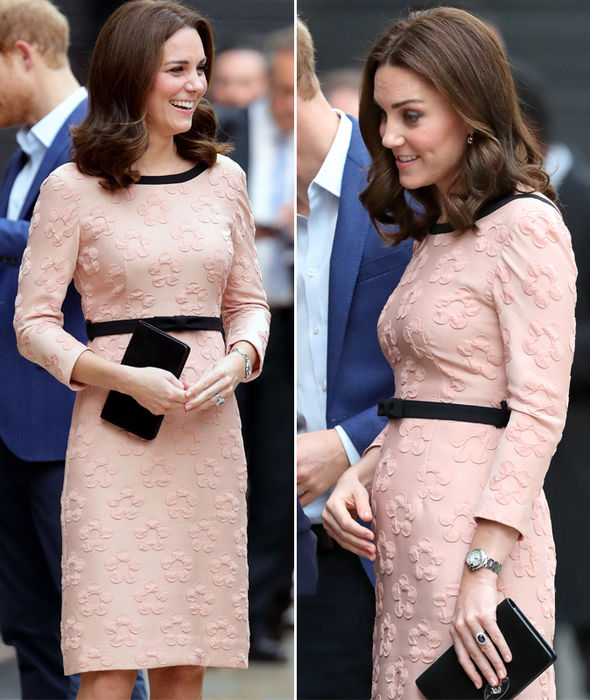 When is kate middleton due her baby