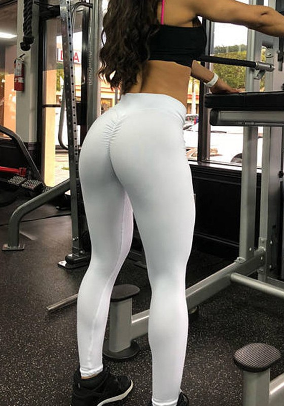 White yoga pants pictures