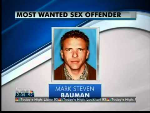 Most wanted sex offender