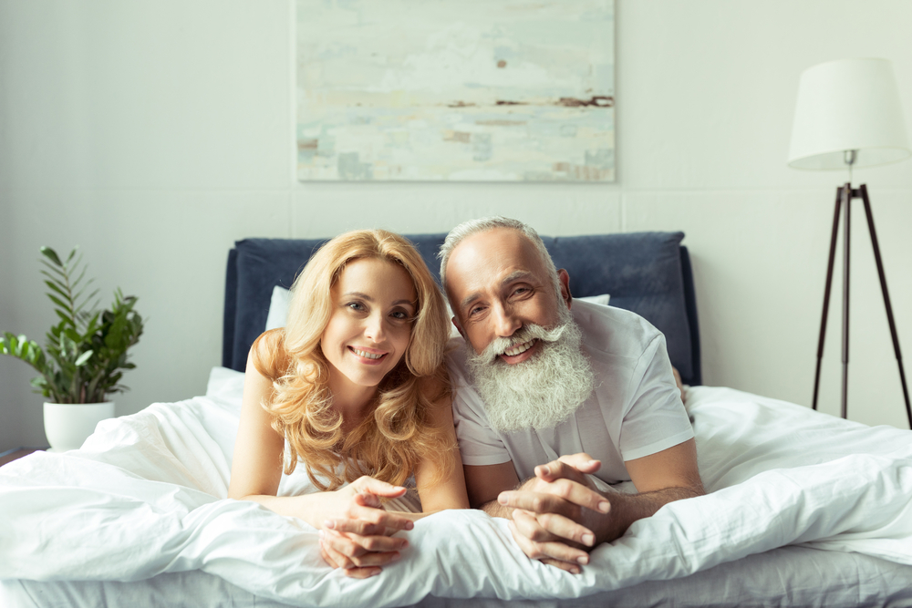 Older man with younger girl