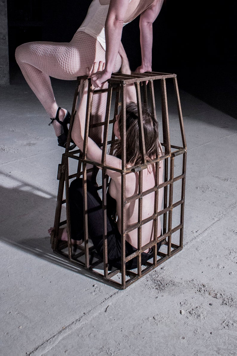 Sex toys puppy cages dungeon furniture