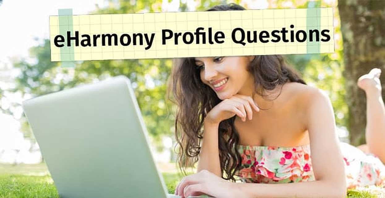 What kind of questions does eharmony ask