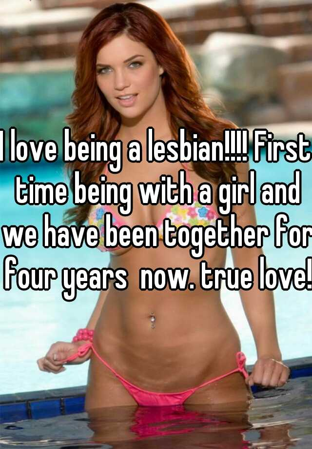 Girls first time with lesbian