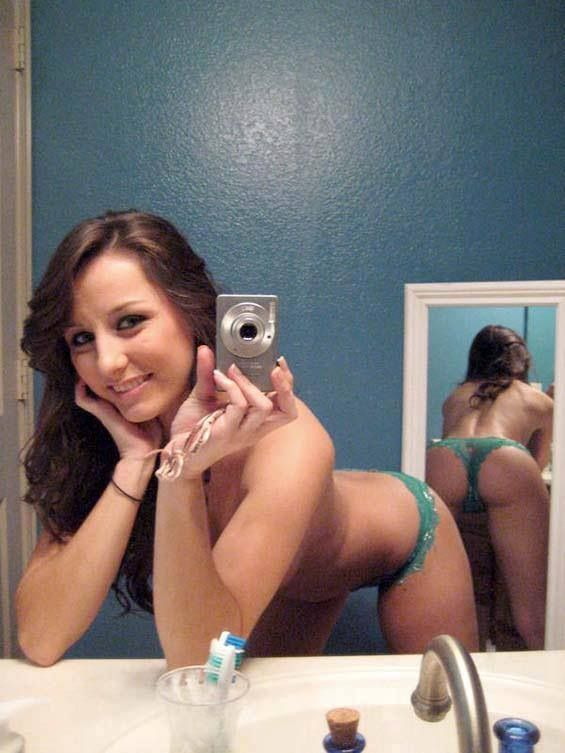 Sexy booty selfies