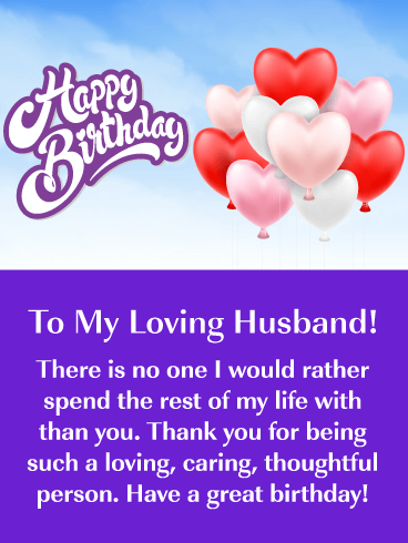 50th birthday message to husband