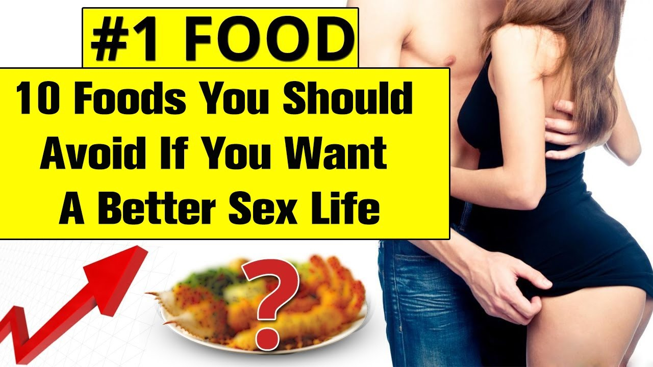 What to eat for better sexlife