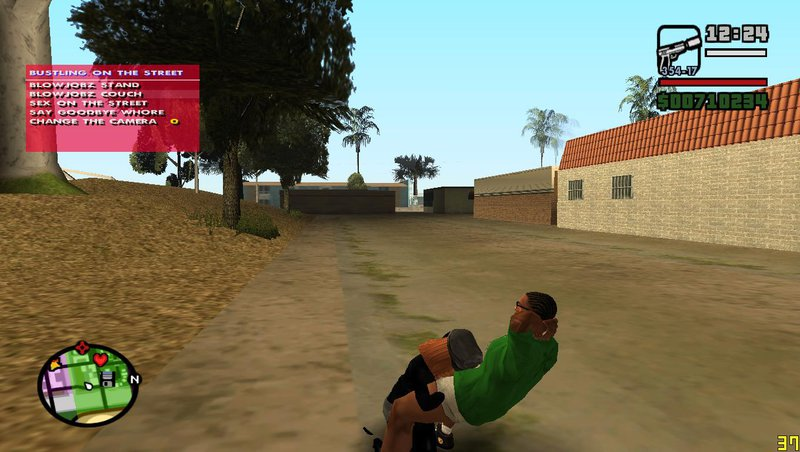 Gta san andreas sex mode