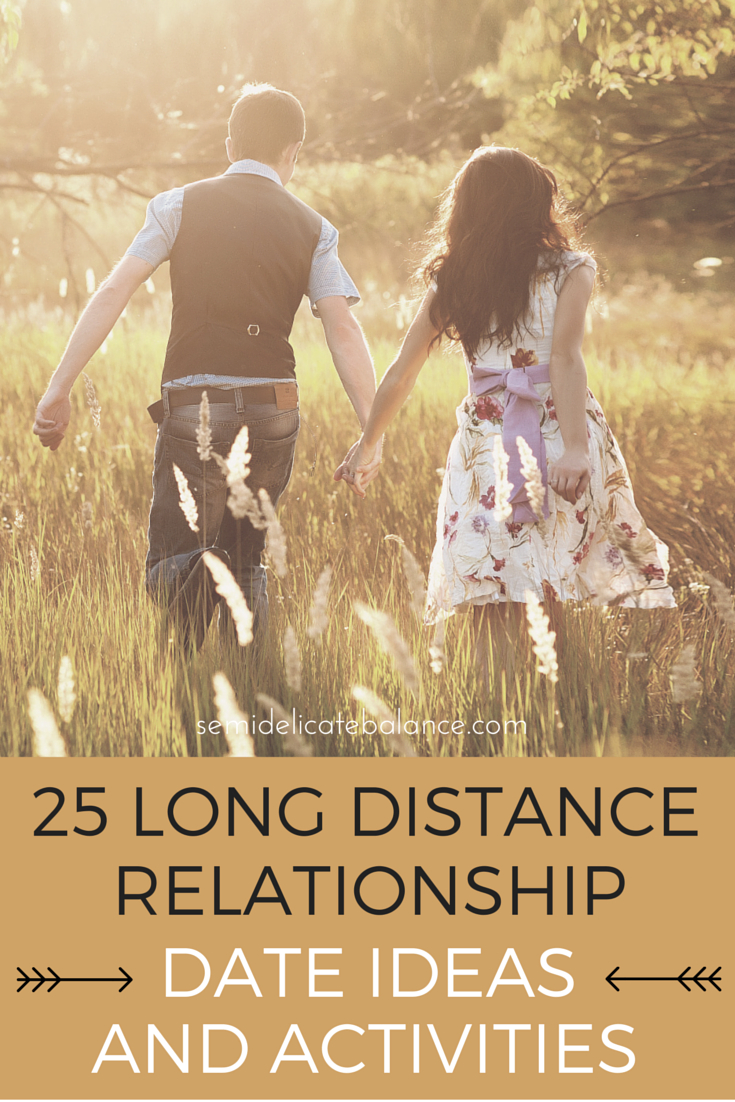 Cute things to do for a long distance relationship
