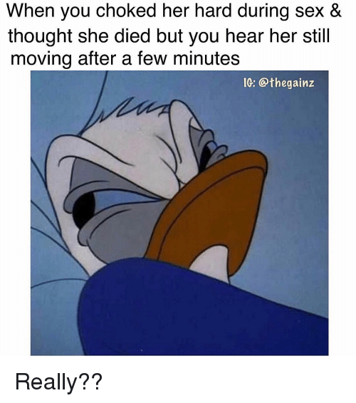During her sex thought