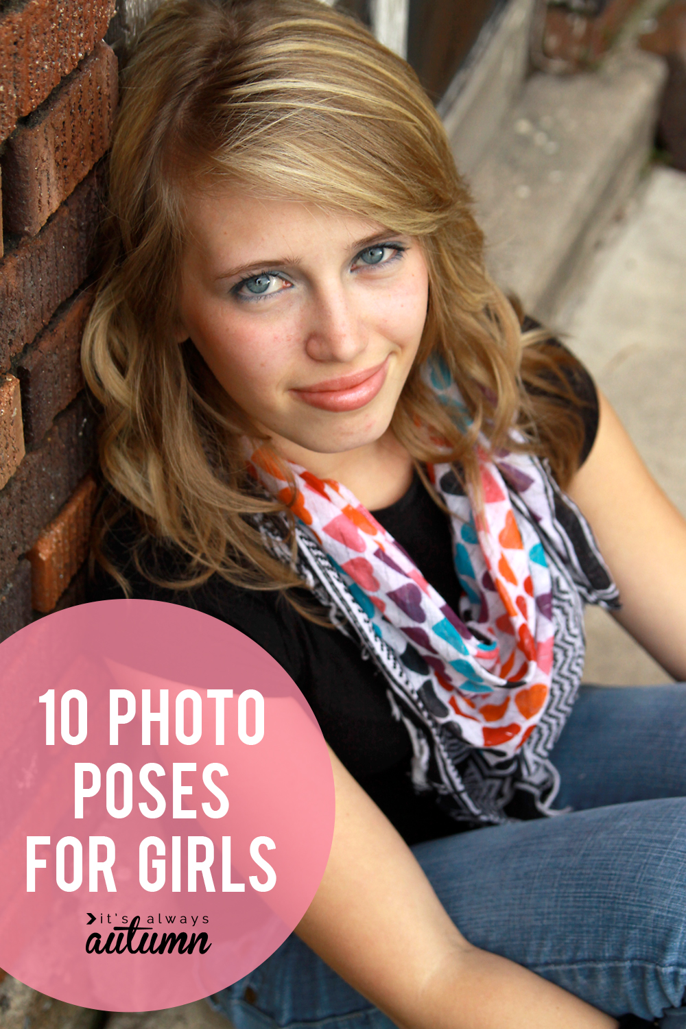 Good photo poses for girls