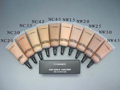 Mac select cover up nw15 dupe