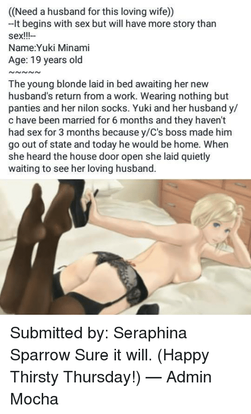 Sex stories for loving wife