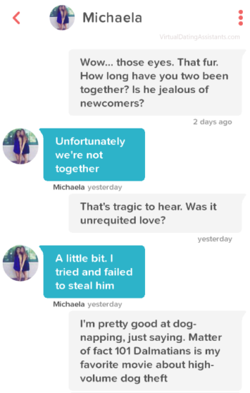 The best online dating first message